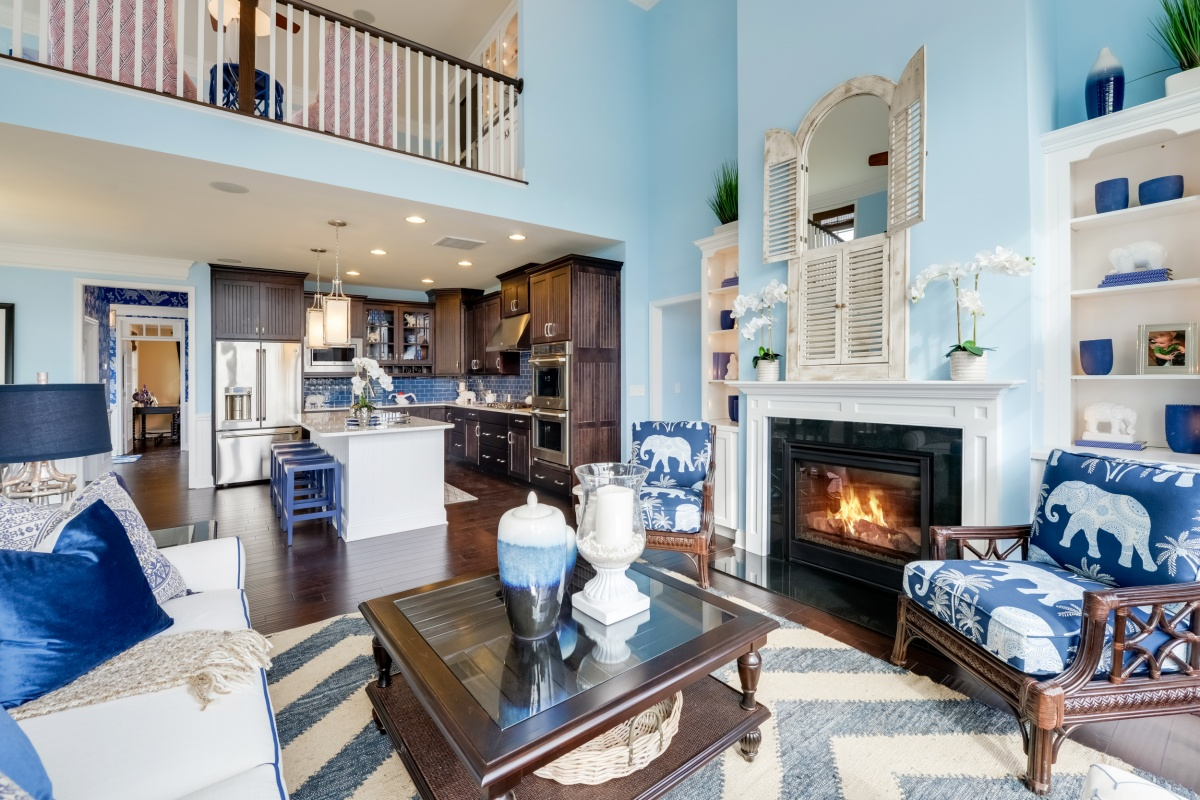 The Hatteras Bayside Great Rooms Idea Gallery